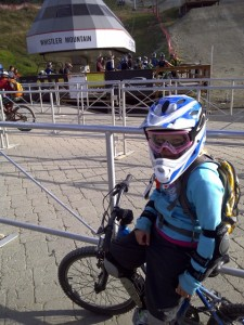 Piper at the lift